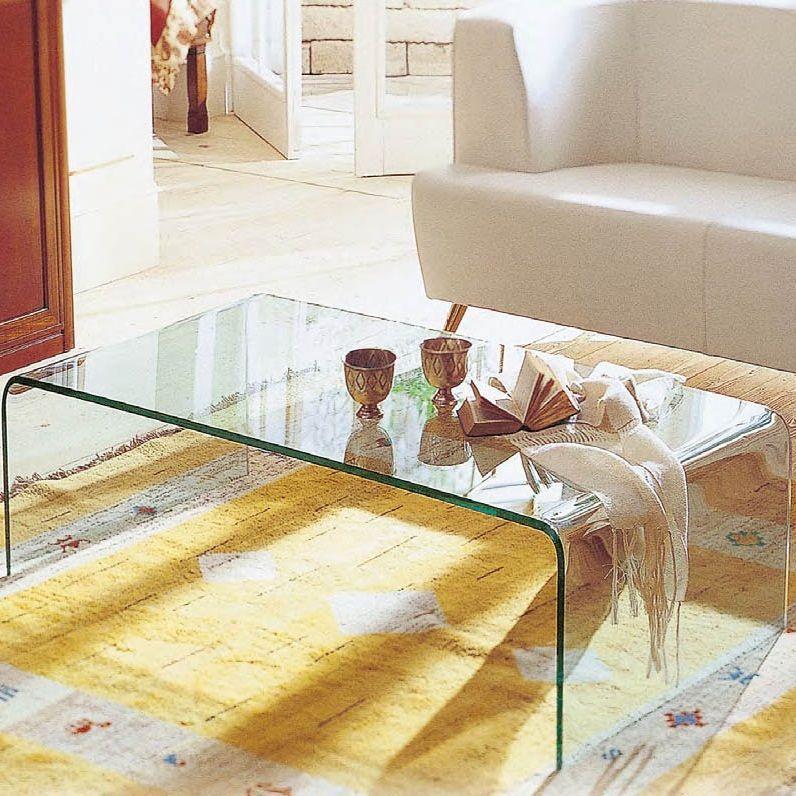 リビングテーブル,ガラステーブル,曲面ガラス_センターテーブル,コーヒーテーブル