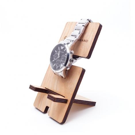 時計&スマホスタンド,ギフト,ノベルティ
