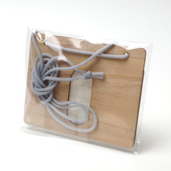 ネームケース,首掛けタイプ木製ネームケース,ギフト,ノベルティ