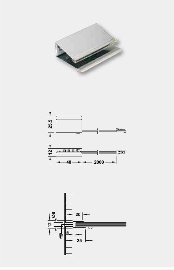 LED詳細図,LED定格消費電力,LED素子数