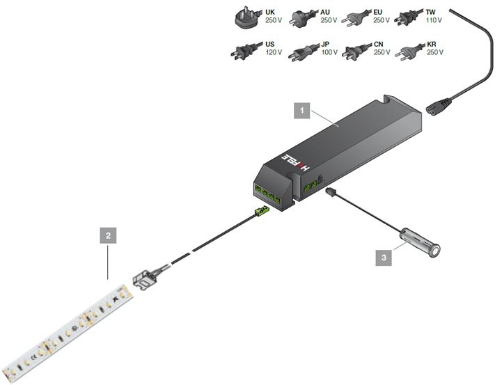 電源装置,LEDテープライト,LED照明,LED