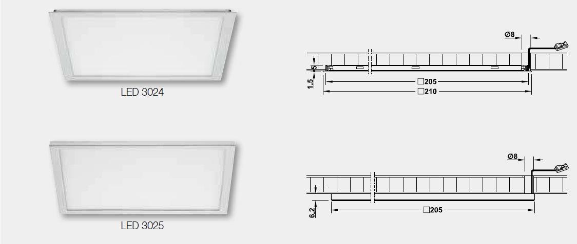 LED,LEDライト,LEDダウンライト,LED詳細図