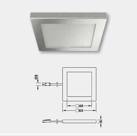 LED,LED照明,LEDダウンライト,LED詳細図