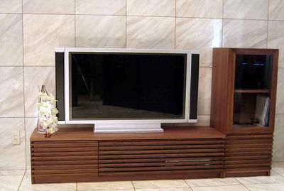 TV board,TVボード,テレビボード,テレビ台,ウォールナット材