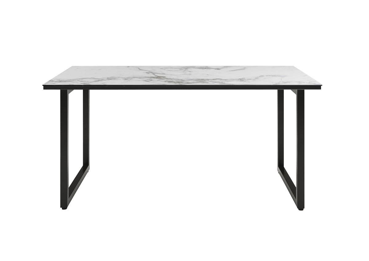 モダンダイニングテーブル,ホワイトセラミック天板,ラマ,rama