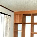 天井おさまり具合,壁面収納家具,システム壁面収納家具,オーダー壁面収納家具,リビング壁面収納家具,リビングボード,サイドボード,フリーボード壁面収納家具,書棚