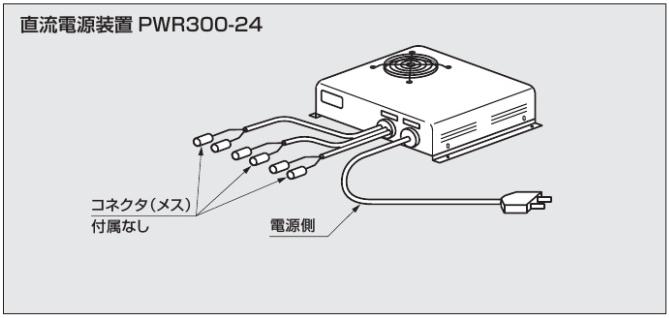 直流電源装置PWR300-24