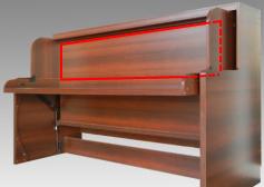 デスクベッド,格納ベッド,収納ベッド,折畳みベッド,エキストラベッド