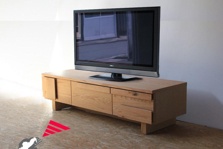 テレビボード,テレビ台,TVボード,ムクムクテレビボード,140,160,180,オーク材